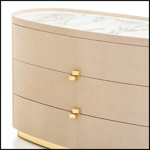 Chaise Lord en  bois sculpté et verni, assise et Jet noir, Chaise 119-Lord