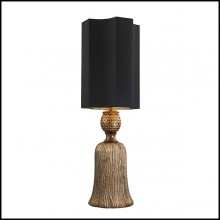 Table Lamp in Solid Brass 24-Firenze