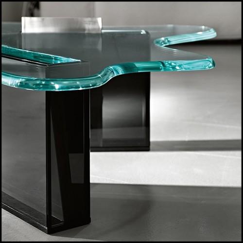 Fauteuil avec structure en chêne massif 173-Oak Frame Leather