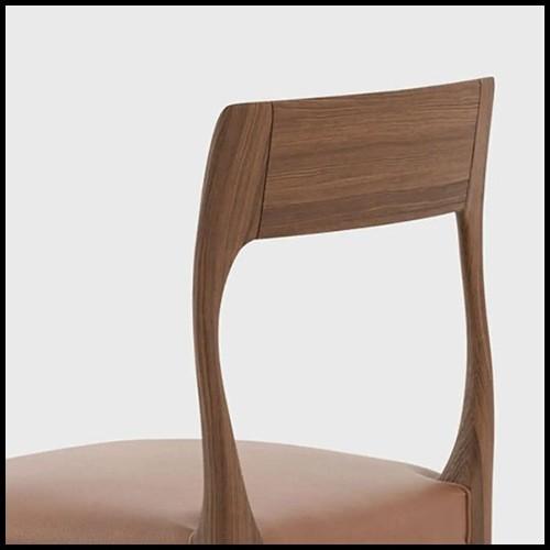 Wall Sculpture in Ceramic 162-Leopard Black