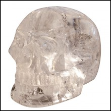 Sculpture in one block of pure crystal PC-Pure Crystal Skull
