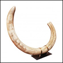 Tusk in pure ivory PC-Mammoth Pure Ivory Big