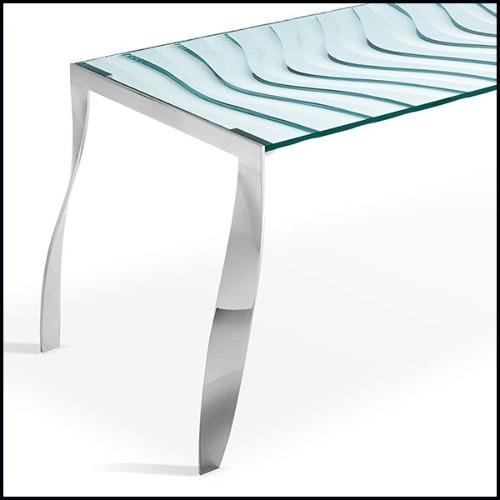 Miroir avec peinture à la feuille d'or 119-Sunny Parts