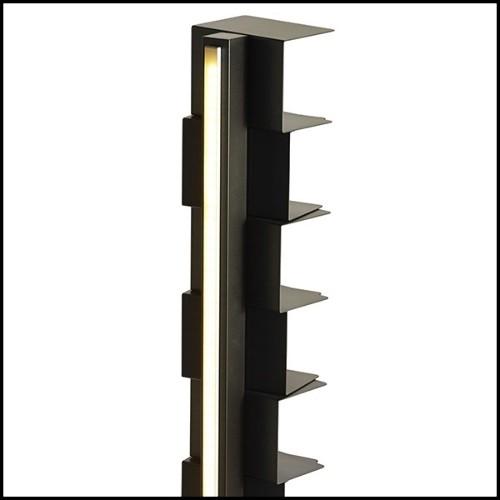 Vase fabriqué à la main avec structure en métal PC-Argile Balls Large