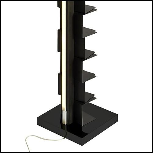 Vase fabriqué à la main avec structure en métal PC-Argile Balls Medium