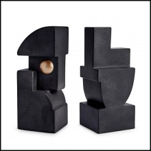 Bookend in earthenware PC-Pâcques Set of 2