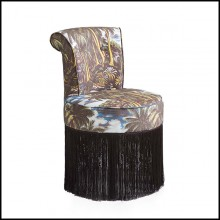 Chair with solid wood structure 162-Miami Style