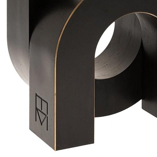 Fauteuil en cuir blanc 150-Sybil