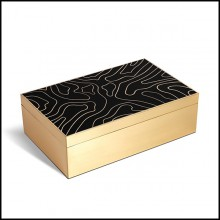 Box with Solid Ebony Wood 172-Athenee