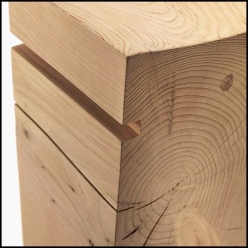 Chandelier finition bronze avec lumières LED intégrées 24-Cassini