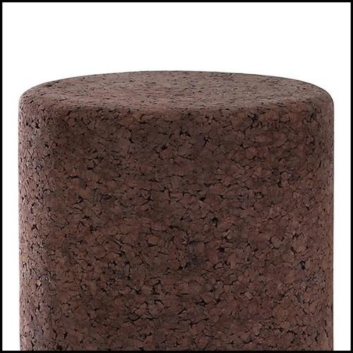 Ashtray in crystal glass 24-Alma Grey