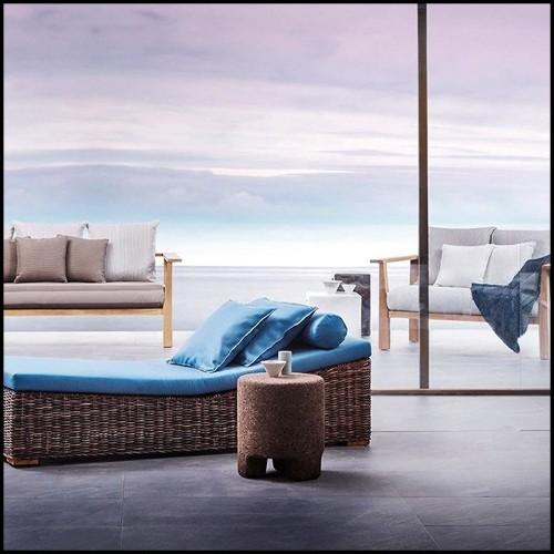 Bowl en verre cristal 24-Las Hayas Turquoise