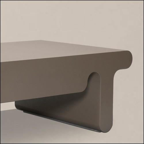 Tabouret en cèdre massif 154-Cocoona Shape 1