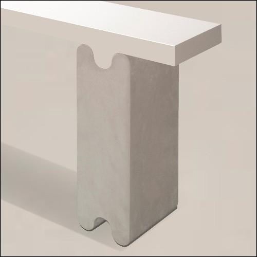 Tabouret en cèdre massif 162-Cocoona Shape 3