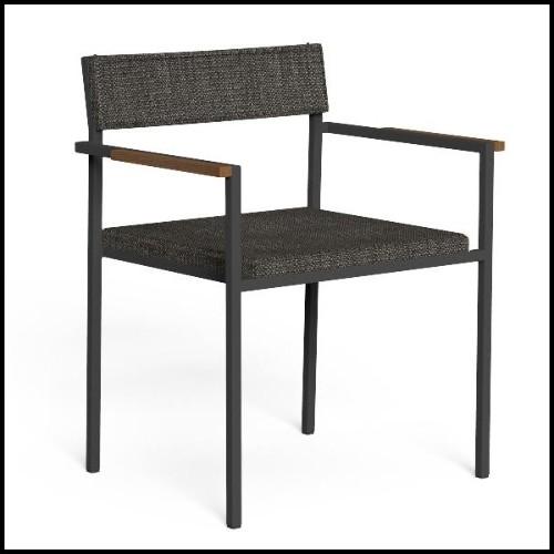 Canapé avec tissu velours coloris pistache et base en laiton brossé 24-Mirage Pistache