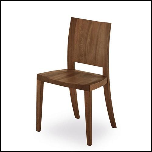 Table d'appoint en acier inoxydable finition laiton brossé 24-Callum