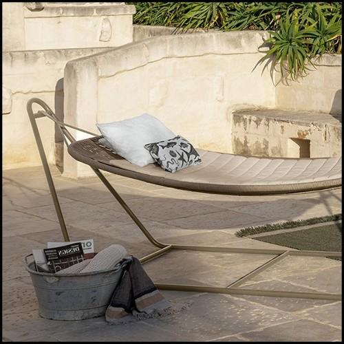 Bougeoirs en marbre gris et laiton brossé 24-Sierra Set of 3