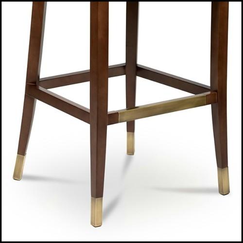 Table d'appoint avec structure en acier inoxydable 24-Hermoza