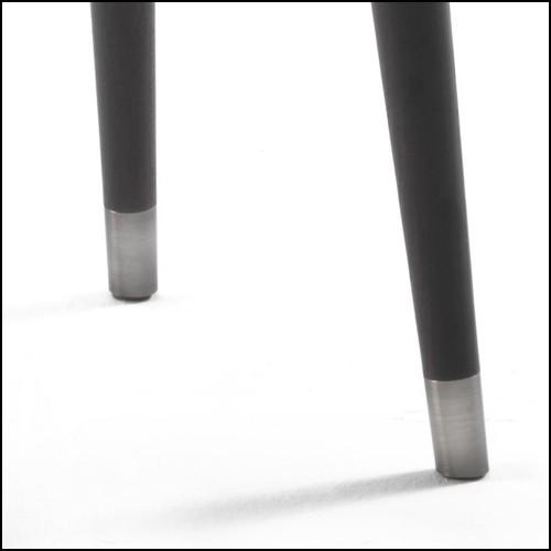 Table basse en fer avec plateau en laiton finition vintage 24-Ginkgo