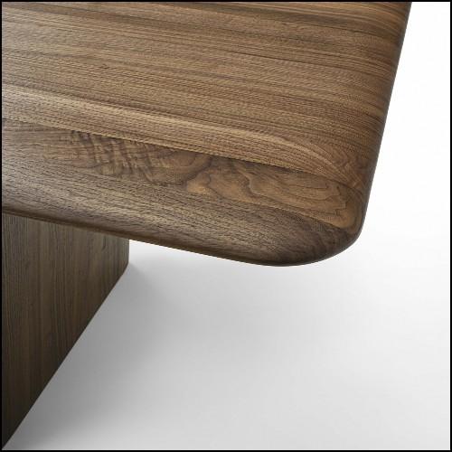 Table d'appoint en fer avec plateau en laiton finition vintage 24-Ginkgo