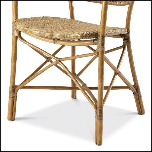 Table d'appoint avec plateau en chêne vernis finition lavé 24-Oxnard