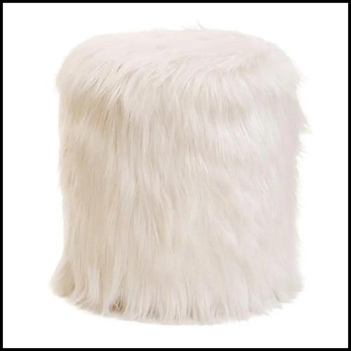 Sellette avec structure en acier inoxydable finition gold 24-Lindos Gold