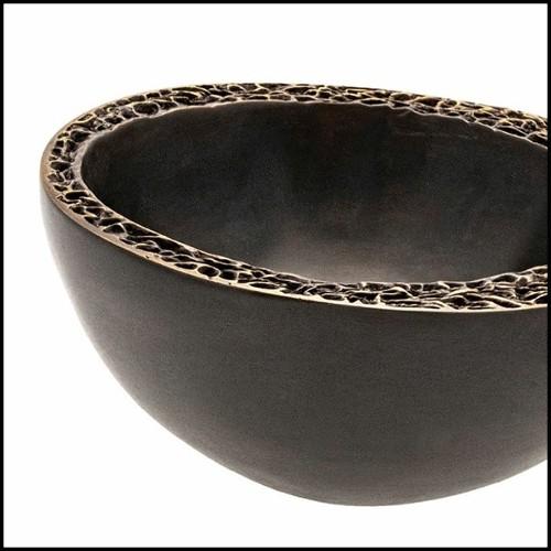 Miroir en laiton finition vintage et verre miroir 24-Beaumont Brass