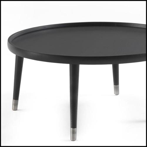 Miroir avec cadre en nickel et verre miroir 24-Beaumont Nickel with lights
