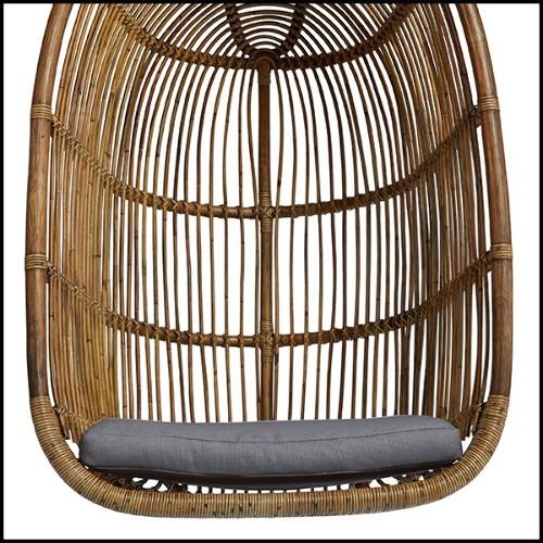 Candleholder in hand painted porcelain 162-Green Parrot Sculpture