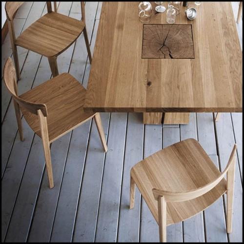 Lampe avec structure nickel et abat-jour en velours 24-Trophy Nickel