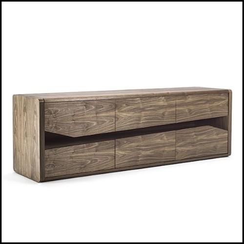 Suspension avec abat-jour en aluminium recouvert de feuille d'or 107-Dome Gold Leaf