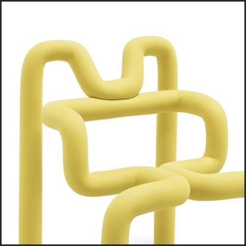 Applique avec structure en métal finition noir et avec disque avant 40-Moon