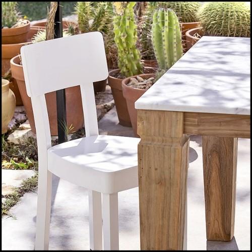 Applique avec structure finition nickel et verre cristal clair 24-Amazone