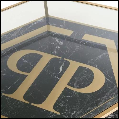 Vase réalisé par pliage à chaud à partir d'une plaque de verre 40-Flowering White