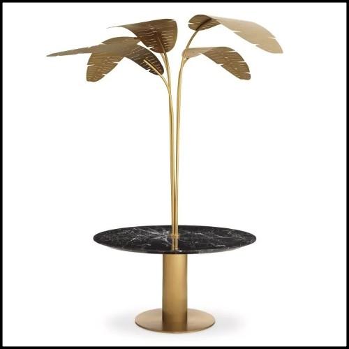 Trône avec structure en hêtre massif et peau d'alligator teinté rouge PC-King Red Croco