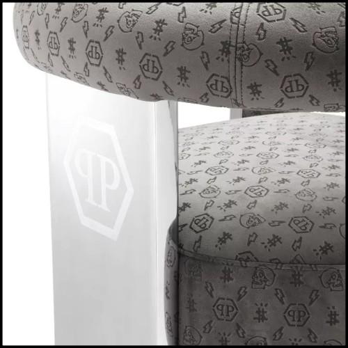 Table basse en acier inoxydable finition gold et verre clair 24-Trento Gold