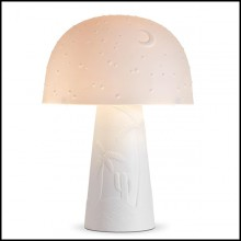 Table Lamp in white porcelain 172-Desert White