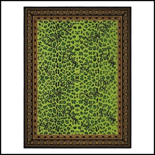 Suspension en acier finition chrome et verre cristal 150-Parure