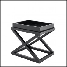Table d'appoint en bouleau 24-McArthur Black