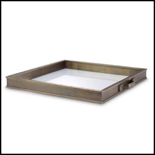 Tabouret de bar en hêtre massif et assise avec tissu velours coloris green 24-Sophia Loren Green