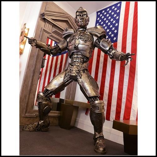 Miroir en bois massif et verre miroir antique biseauté 182-Mezzo