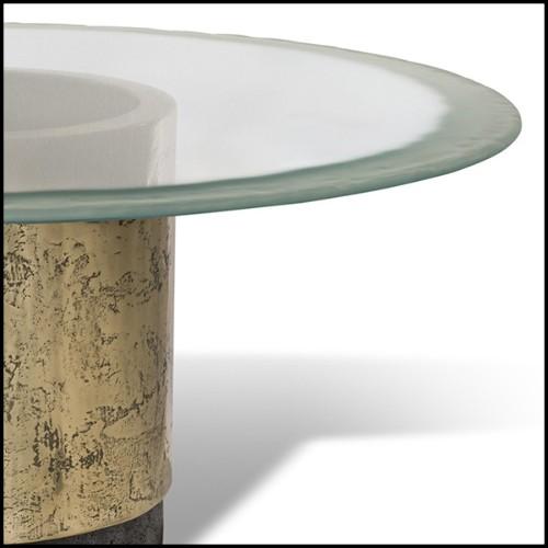 Miroir avec trois panneaux de verre miroir 158-Triple