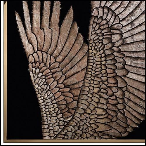 Tabouret de bar en acier inoxydable avec tissu velours coloris blue 24-Parisian Blue M