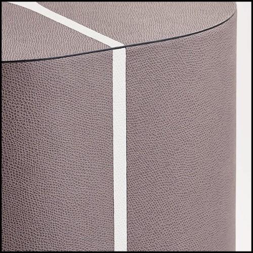 Boîte en céramique finition black 162-Leopard