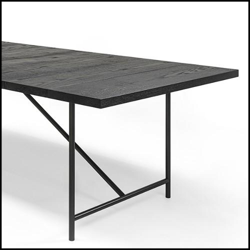 Coupe en acier inoxydable poli et plaqué or 172-Bamboos Oval