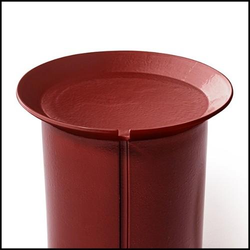 Boîte en marbre noir avec couvercle 162-Quartz and Marble
