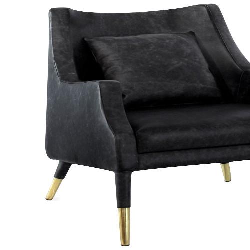 Vase in lacquered ceramic 38-Nacre White Medium