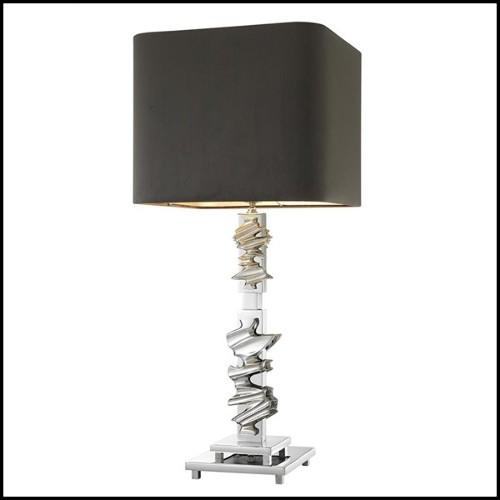 Vide-Poche in porcelain with resin details 172-Green Eye