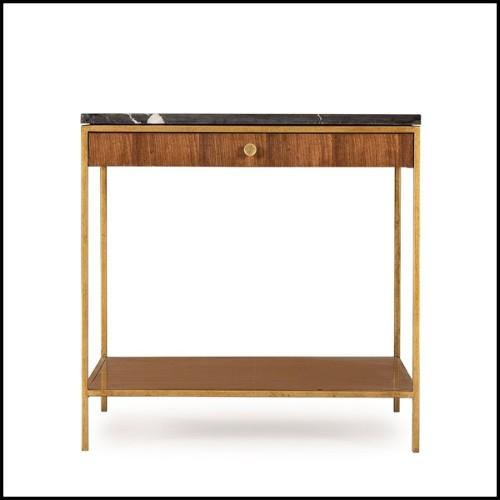 Canapé avec structure en bois et tissu velours léopard 162-Leopard 2 Seater