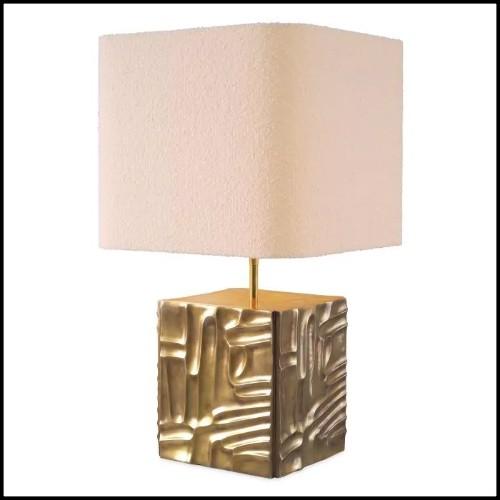 Applique finition nickel et verre cristal 24-Amazone
